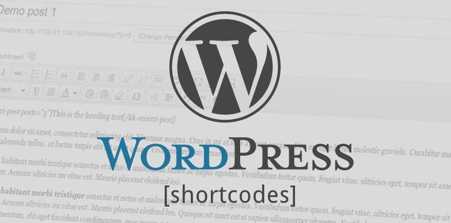 Thêm Shortcode vào trình soạn thảo TinyMCE Wordpress