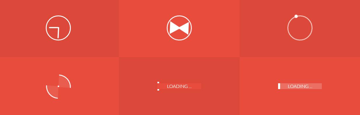 10 Loaders và Spinners tuyệt đẹp từ Codepen - Online Web Development